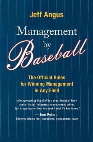 Management by Baseball book image