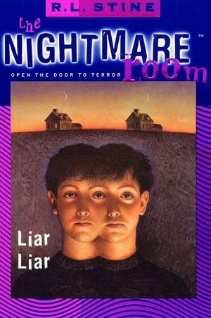 The Nightmare Room #4: Liar Liar book image