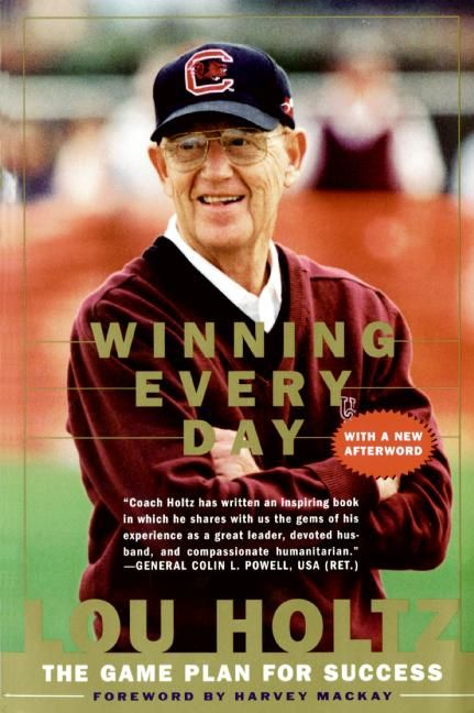 Book cover image: Winning Every Day: The Game Plan for Success