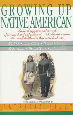 Growing Up Native American book image