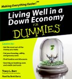 Living Well in a Down Economy for Dummies Downloadable audio file ABR by Tracy Barr