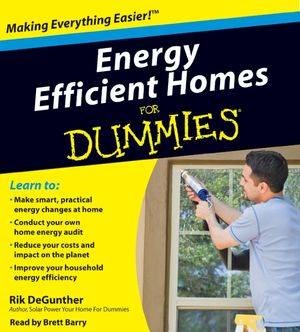 Energy Efficient Homes for Dummies book image