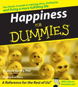 Happiness for Dummies book image