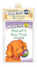 Biscuit's New Trick Book and CD CD-Audio  by Alyssa Satin Capucilli