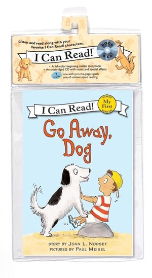Go Away, Dog Book and CD book image