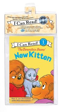 The Berenstain Bears' New Kitten Book and CD