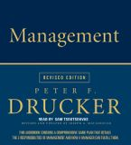 Management Rev Ed Downloadable audio file ABR by Peter F. Drucker
