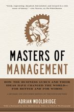 Masters of Management Hardcover  by Adrian Wooldridge