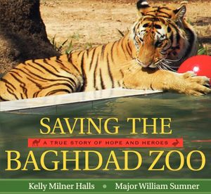 Saving the Baghdad Zoo book image
