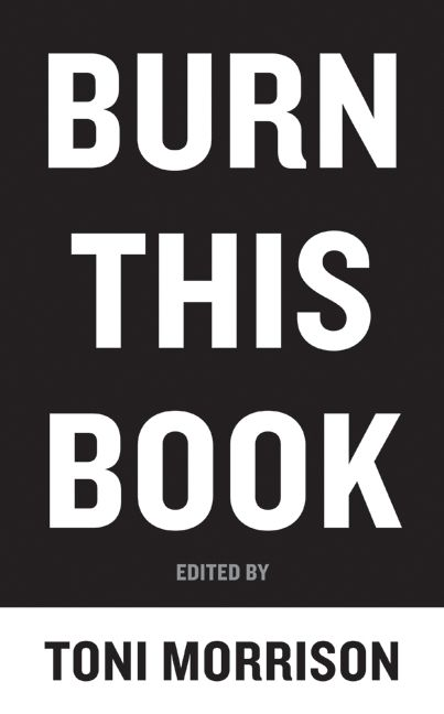 Burn this book toni morrison hardcover fandeluxe Images