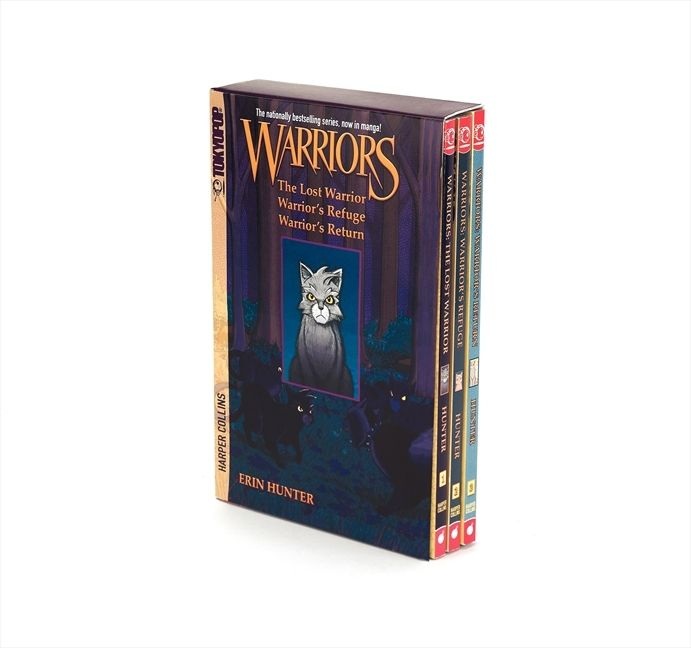 Warriors Erin Hunter Book Review: Warriors Manga Box Set: Graystripe's Adventure