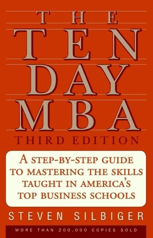 The Ten-Day MBA 3rd Ed. book image