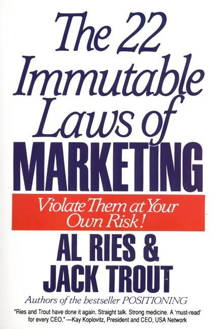 The 22 immutable laws of marketing al ries jack trout e book read a sample enlarge book cover fandeluxe Choice Image