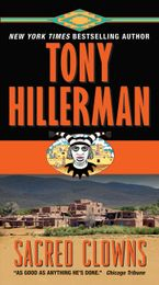 Sacred Clowns Paperback  by Tony Hillerman