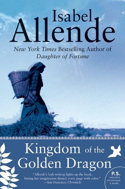 Kingdom of the golden dragon isabel allende paperback enlarge book cover fandeluxe Images