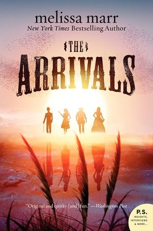 The Arrivals book image