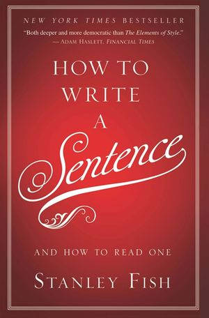 How to Write a Sentence book image