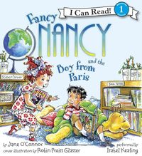 Fancy Nancy and the Boy from Paris Book and CD