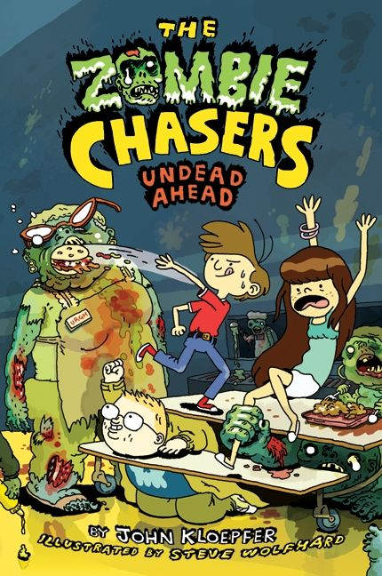 The Zombie Chasers 2 Undead Ahead - John Kloepfer - Hardcover-7336