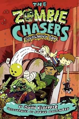 The Zombie Chasers #3: Sludgment Day book image