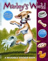 Marley: Marley's World Reusable Sticker Book