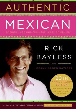 Authentic Mexican book image