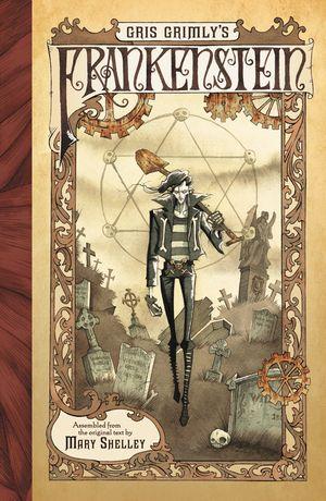 Gris Grimly's Frankenstein book image