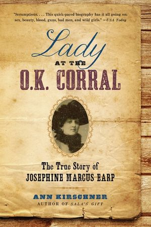 Lady at the O.K. Corral book image