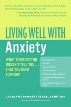 Living Well with Anxiety eBook  by Carolyn Chambers Clark