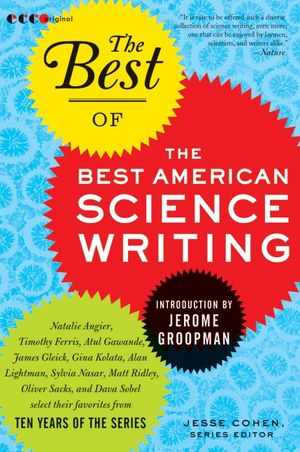 The Best of the Best of American Science Writing book image