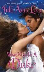 What I Did For a Duke Paperback  by Julie Anne Long