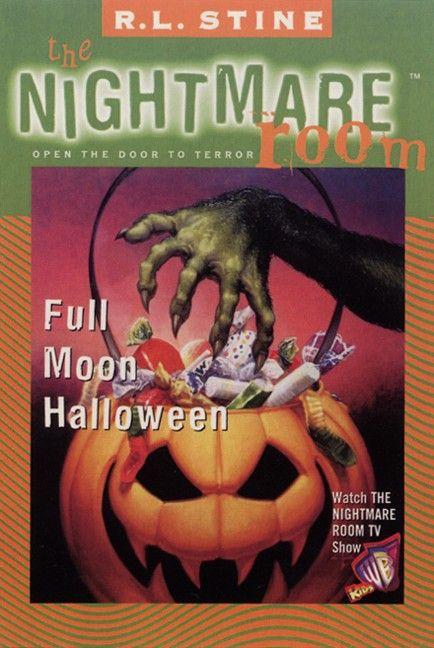 The Nightmare Room #10: Full Moon Halloween - R.L. Stine - E-book