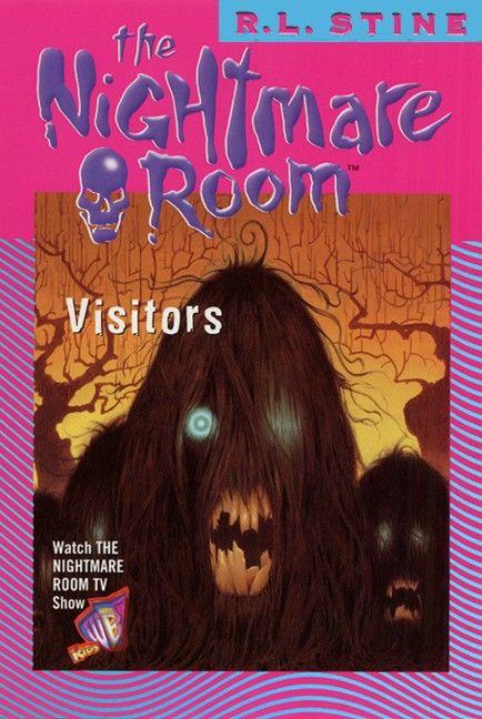 The Nightmare Room #12: Visitors - R.L. Stine - E-book