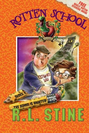 Rotten School #7: Dudes, the School Is Haunted! book image