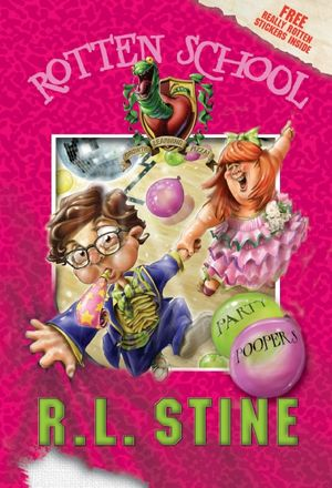 Rotten School #9: Party Poopers book image