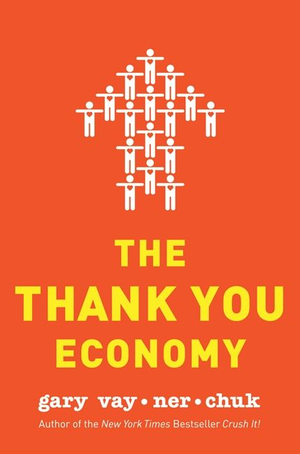 Book cover image: The Thank You Economy | New York Times Bestseller