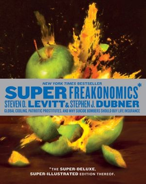 SuperFreakonomics, Illustrated edition book image