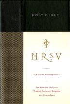 NRSV Go-Anywhere Thinline Bible Catholic Edition (Bonded Leather Black)