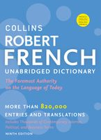 Collins Robert French Unabridged Dictionary, 9th Edition