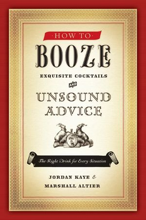 How to Booze book image