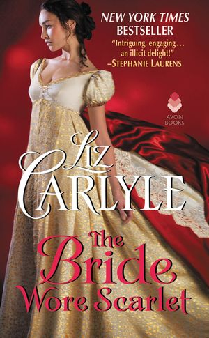 The Bride Wore Scarlet book image