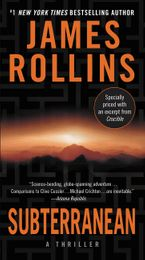 Subterranean Paperback  by James Rollins