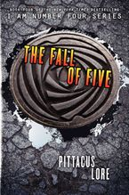 The Fall of Five Hardcover  by Pittacus Lore
