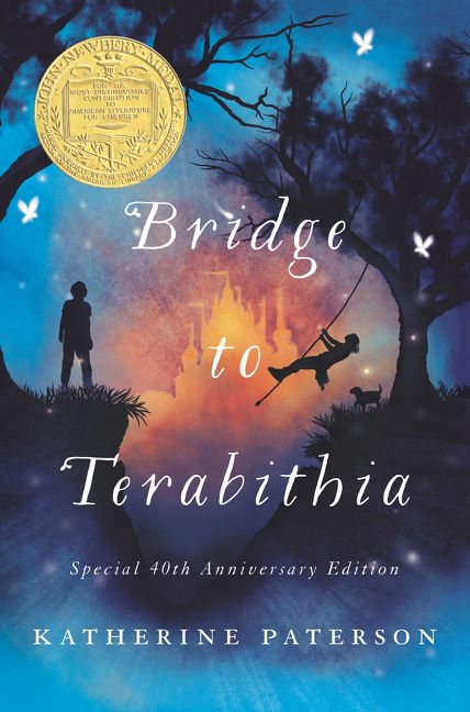 book report on the bridge to terabithia Critically acclaimed bridge to terabithia by katherine paterson, published in 1974, first entered my life in fifth grade reading class i remember sitting at my desk in the time where it was cool to wear leggings under a denim skirt as i listened to ms daniel, the cool teacher, read the book to us every.