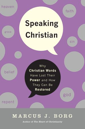Speaking Christian book image