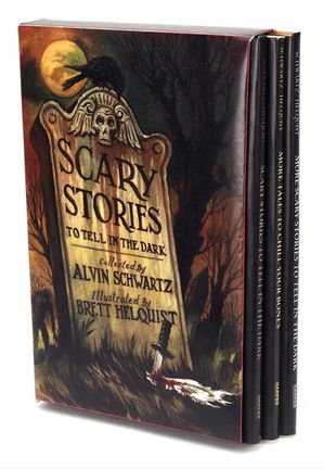 Scary Stories Box Set Paperback  by Alvin Schwartz