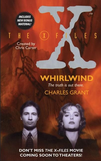 Image result for X-Files: The Whirlwind - Charles Grant