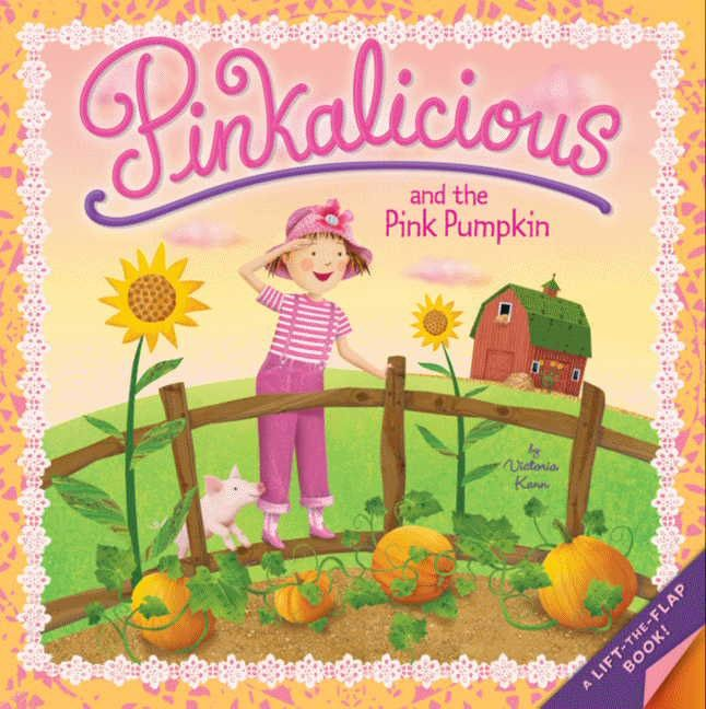 Image result for pinkalicious and the pink pumpkin