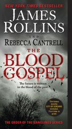 The Blood Gospel Paperback  by James Rollins
