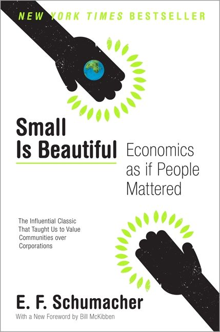 Small Is Beautiful - E  F  Schumacher - Paperback